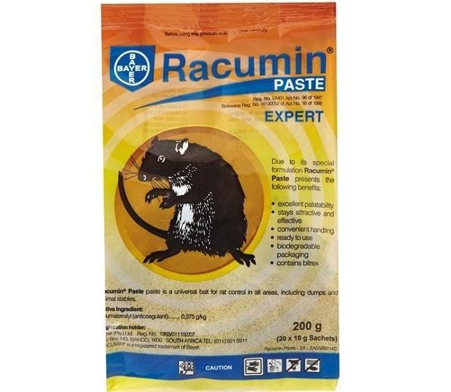 Racumin Paste là Top 10 thuốc diệt chuột tốt nhất hiện nay
