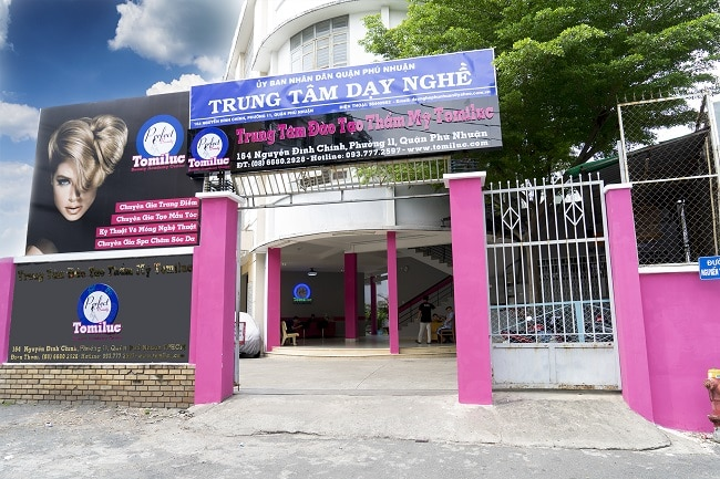 Trường đào tạo Thẩm Mỹ Tomiluc là Top 10 trung tâm dạy học chăm sóc da tốt nhất tphcm