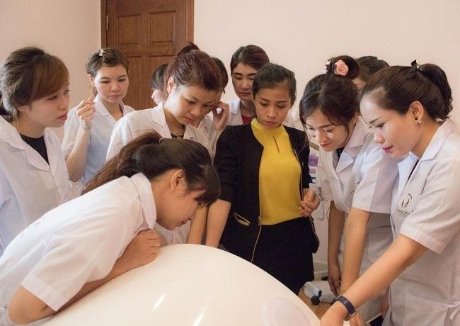 Seoul Academy là Top 10 trung tâm dạy học chăm sóc da tốt nhất tphcm