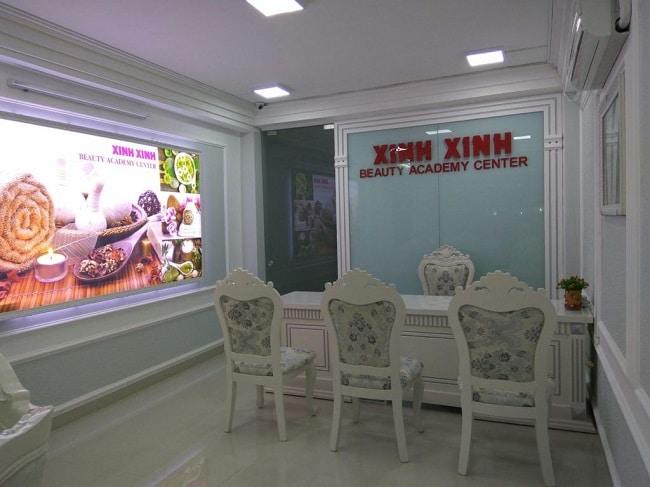 Trường dạy nghề thẩm mỹ Xinh Xinh là Top 10 trung tâm dạy học chăm sóc da tốt nhất tphcm