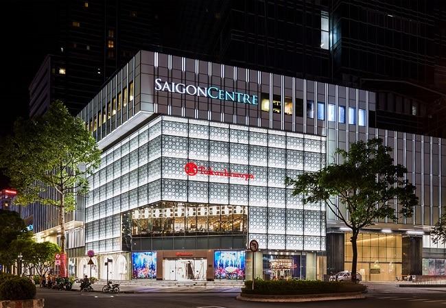 Sài Gòn Centre là Top 10 Trung tâm thương mại ở thành phố Hồ Chí Minh