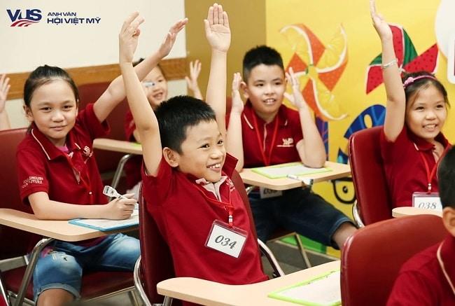 VUS là Top 10 Trung tâm tiếng Anh tốt nhất tại Quận Gò Vấp, TP. Hồ Chí Minh