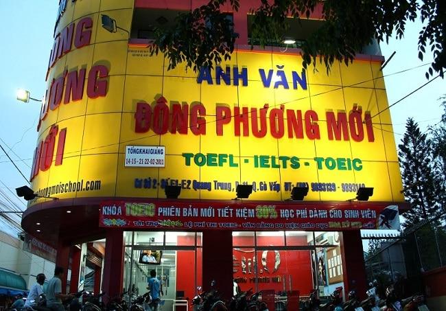 Đông Phương Mới là Top 10 Trung tâm tiếng Anh tốt nhất tại Quận Gò Vấp, TP. Hồ Chí Minh
