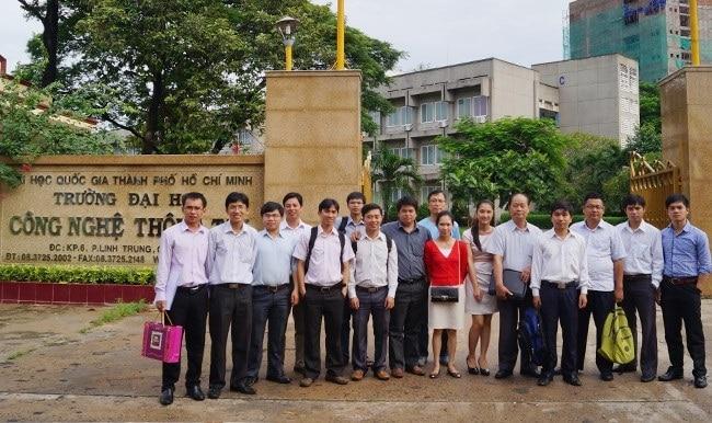 Trường Đại học CNTT là Top 10 Trường đại học công lập tốt nhất TP. Hồ Chí Minh