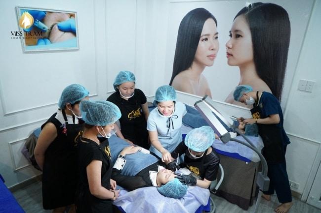 Miss Tram Academy là Top 10 trường dạy học phun xăm, phun thêu thẩm mỹ tốt nhất tphcm