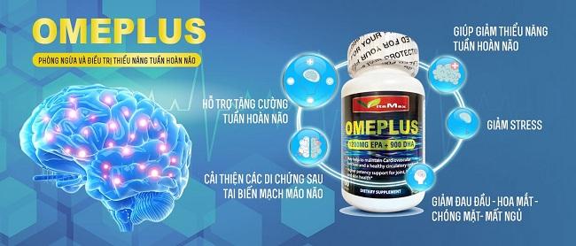 thuốc bổ não Omeplus