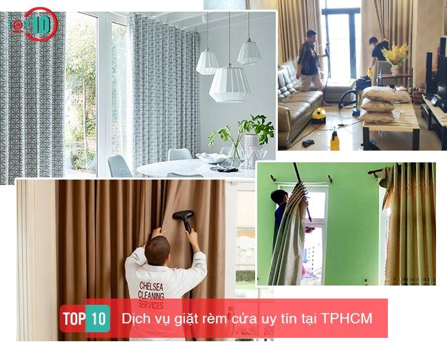 Top 10 dịch vụ giặt rèm cửa chuyên nghiệp & uy tín tại TPHCM