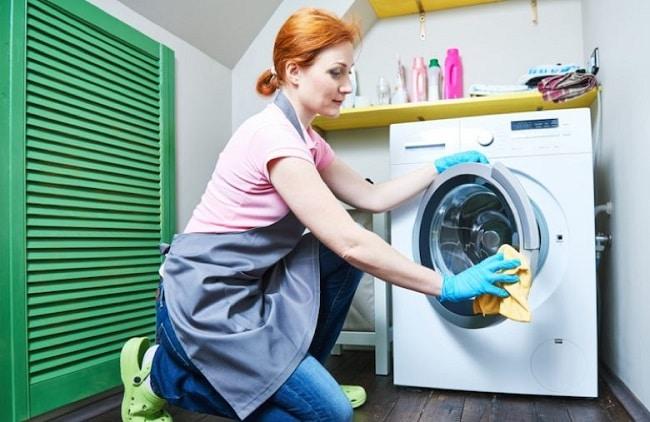 Hướng dẫn vệ sinh máy giặt bằng giấm