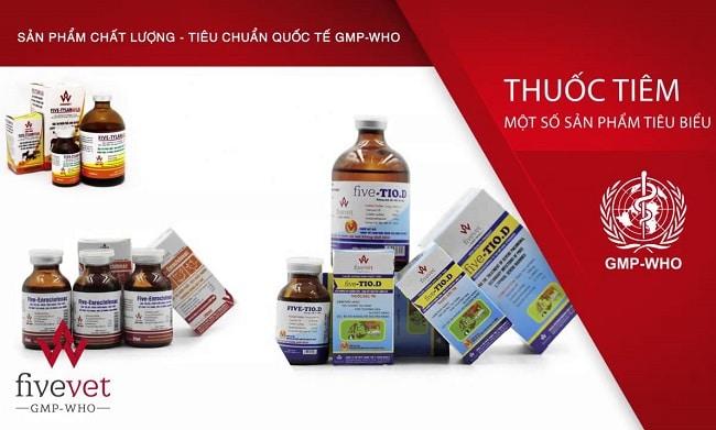 Công ty CP Thuốc thú y TW5 là Top 10 Công ty cung cấp thuốc thú y uy tín nhất tại Việt Nam