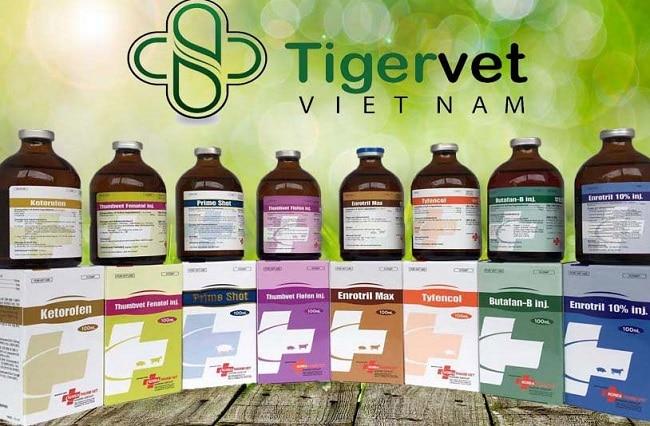 Công ty Tigervet Việt Nam là Top 10 Công ty cung cấp thuốc thú y uy tín nhất tại Việt Nam