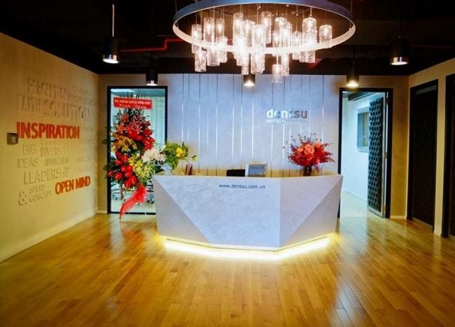 Dentsu Việt Nam là Top 10 Công ty giải trí, quảng cáo nổi tiếng nhất tại TPHCM