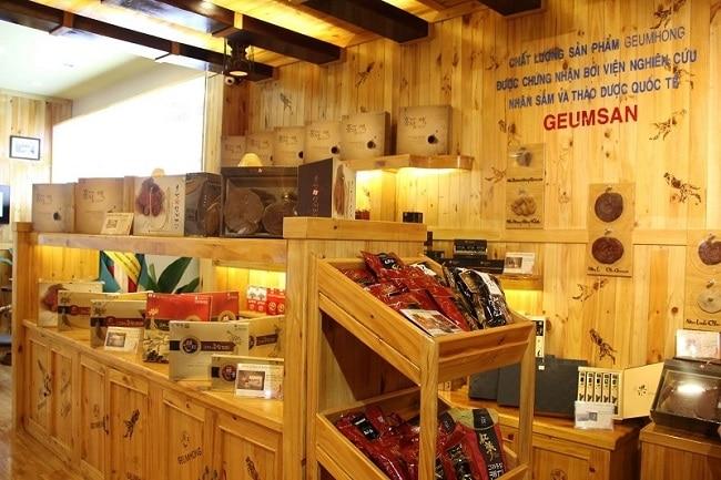Geumsan là Top 10 Cửa hàng bán nhân sâm Hàn Quốc uy tín ở TPHCM