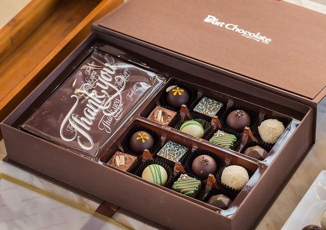 D'Art Chocolate là Top 5 Cửa hàng bán socola Valentine 14/2 ngon nhất ở TPHCM