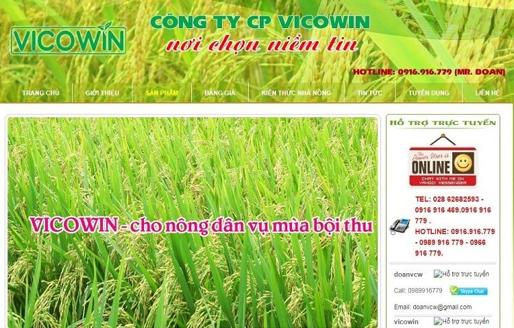 Top 10 cửa hàng bán thuốc bảo vệ thực vật an toàn hiệu quả uy tín nhất tại tphcm - vicowin