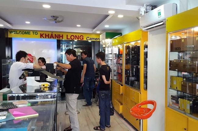 Khánh Long camera là Top 5 Cửa hàng mua bán máy ảnh uy tín nhất TP. Hồ Chí Minh