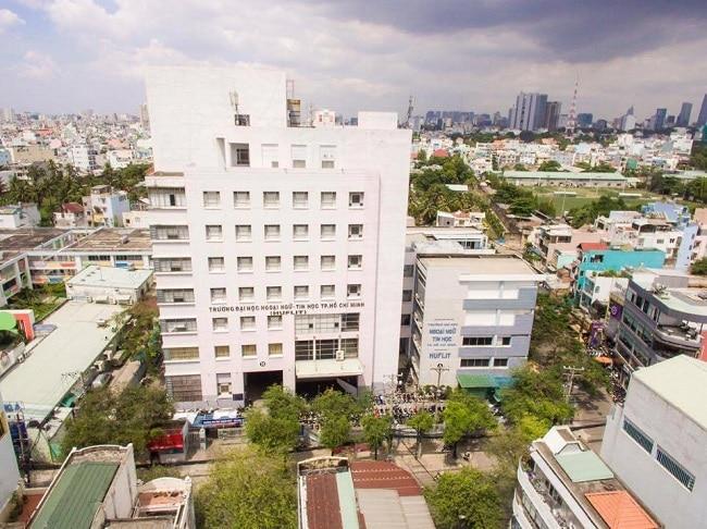 Đại học Ngoại ngữ - Tin học TP HCM là Top 7 Trường đại học dân lập tốt nhất TP Hồ Chí Minh