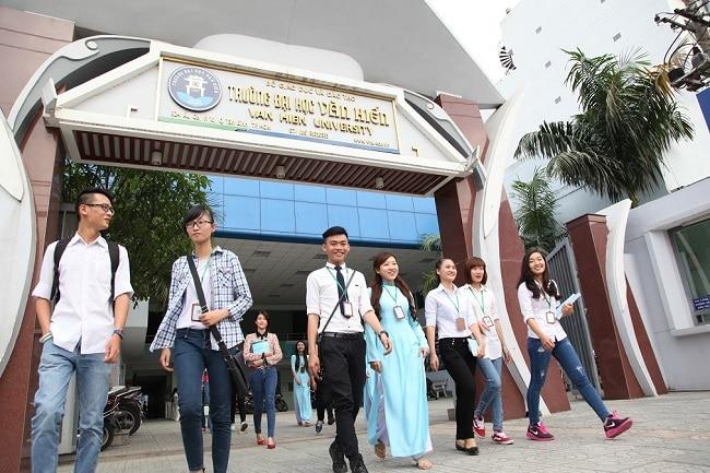 Đại học Văn Hiến là Top 7 Trường đại học dân lập tốt nhất TP Hồ Chí Minh
