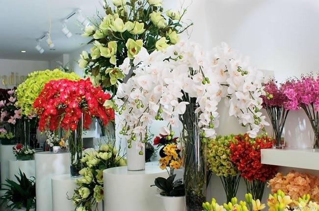 Cửa hàng hoa vải Mai Đào Top 10 địa chỉ bán hoa giả đẹp nhất tại TPHCM