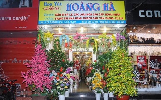 Cửa hàng hoa vải Hoàng Hà là Top 10 địa chỉ bán hoa giả đẹp nhất tại TPHCM