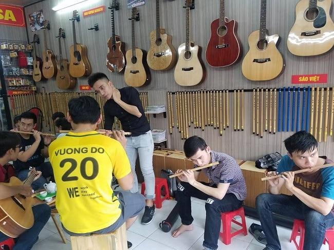 Câu lạc bộ Trường Sa là Top 10 địa chỉ học thổi sáo ở TP. Hồ Chí Minh