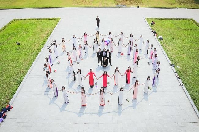 Áo dài Minh Thư là Top 5 địa chỉ may áo dài học sinh, sinh viên đẹp giá rẻ tại TPHCM