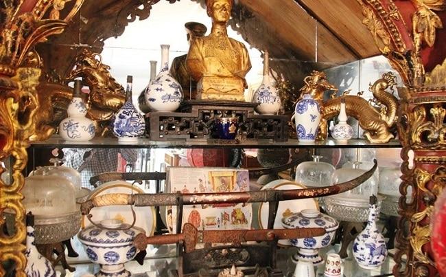 Phòng trưng bày triển lãm của ông Hoàng Văn Cường là Top 5 địa chỉ mua bán đồ cổ, sưu tầm cổ vật uy tín nhất TP.HCM
