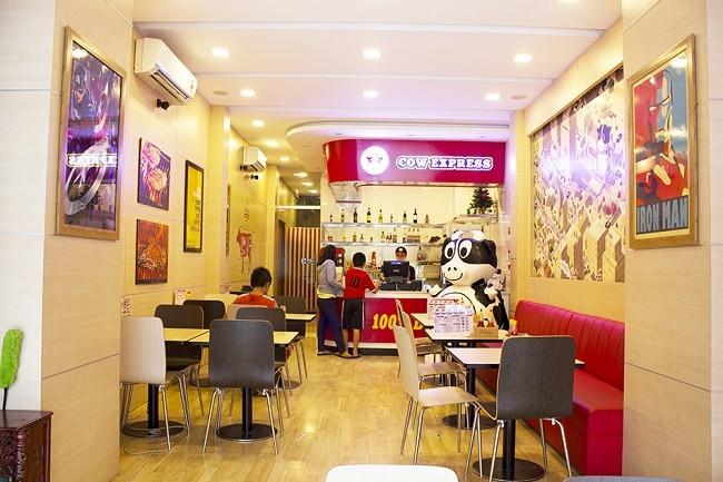 Cow Express là Top 10 địa điểm ăn uống trên đường Sư Vạn Hạnh - Q.10 - TP. Hồ Chí Minh