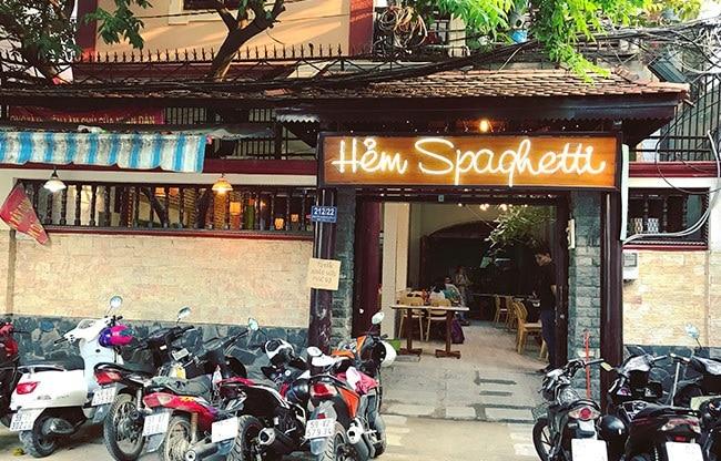 Quán mì hẻm Spaghetti là Top 10 địa điểm ăn uống hấp dẫn nhất ở quận Gò Vấp - TP. Hồ Chí Minh