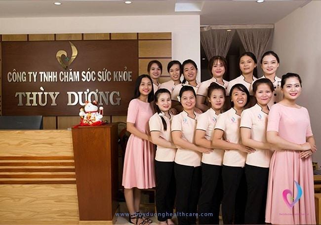 Thùy Dương Healthcare là Top 5 dịch vụ xoa bóp bấm huyệt tại nhà tốt nhất tại TPHCM