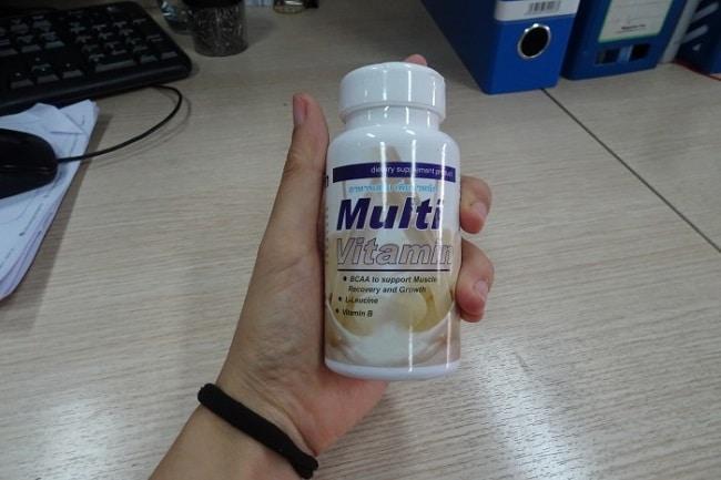 Thuốc tăng cân Multi Vitamin là Top 10 Loại thuốc tăng cân tốt nhất