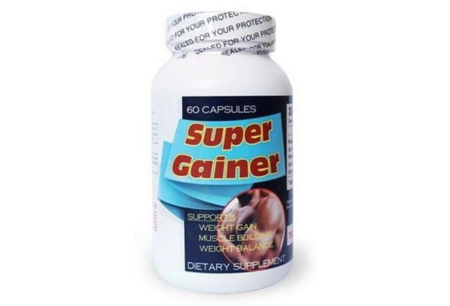 Thuốc tăng cân Super Gainer là Top 10 Loại thuốc tăng cân tốt nhất