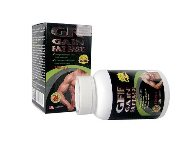 Thuốc tăng cân GFF Gain Fat Fast là Top 10 Loại thuốc tăng cân tốt nhất