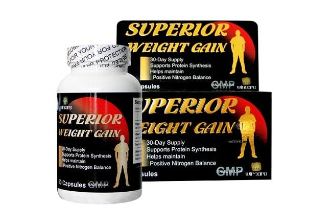 Thuốc tăng cân Superior Weight Gain là Top 10 Loại thuốc tăng cân tốt nhất