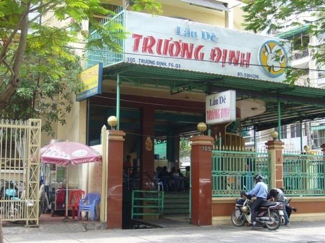 Lẩu dê Trương Định là Top 10 Quán lẩu dê ngon nhất ở TP. Hồ Chí Minh
