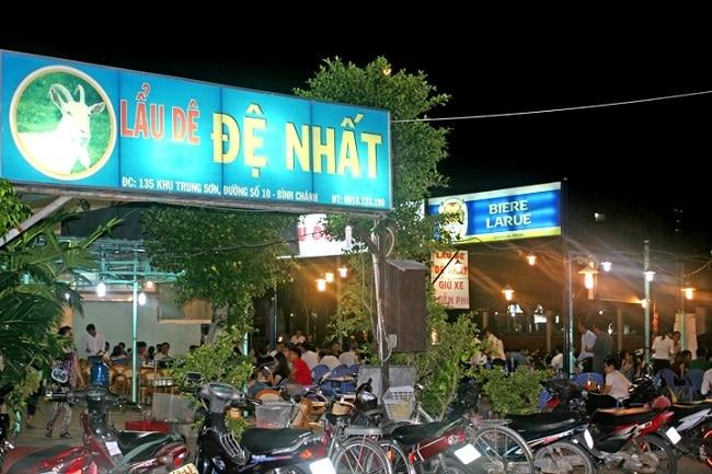 Lẩu dê Đệ Nhất là Top 10 Quán lẩu dê ngon nhất ở TP. Hồ Chí Minh