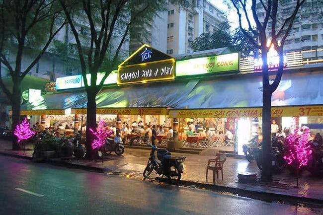 Sài Gòn Xưa và Nay là Top 10 Quán nhậu ngon, nổi tiếng nhất TP. Hồ Chí Minh
