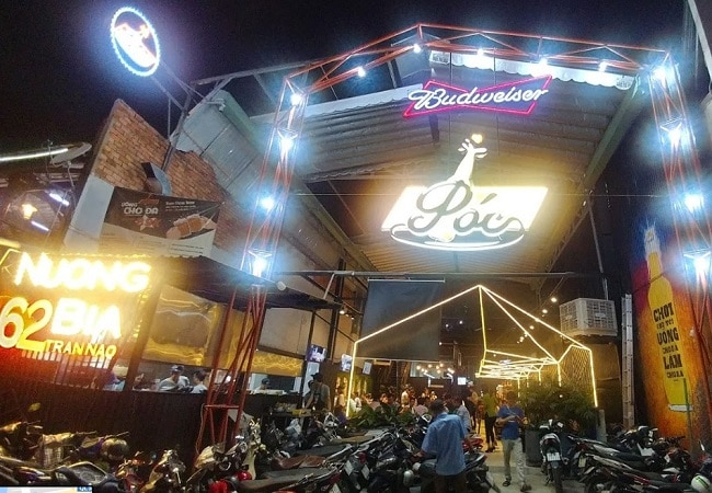 Póc - Nướng & Bia là Top 10 Quán nhậu ngon, nổi tiếng nhất TP. Hồ Chí Minh