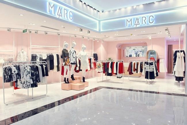 Marc Fashion là Top 10 Shop chuyên đầm/váy dự tiệc sang trọng nhất Hà Nội và TPHCM