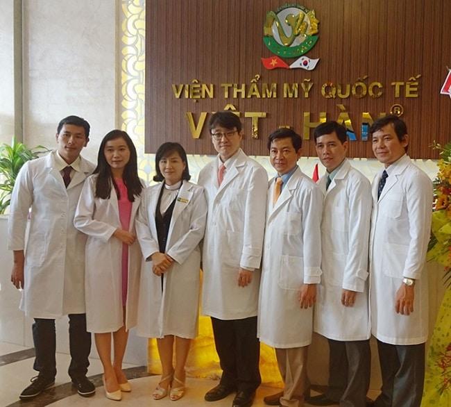 Thẩm mỹ viện quốc tế Việt Hàn là Top 10 Spa dịch vụ nâng ngực uy tín, chất lượng nhất TP. Hồ Chí Minh