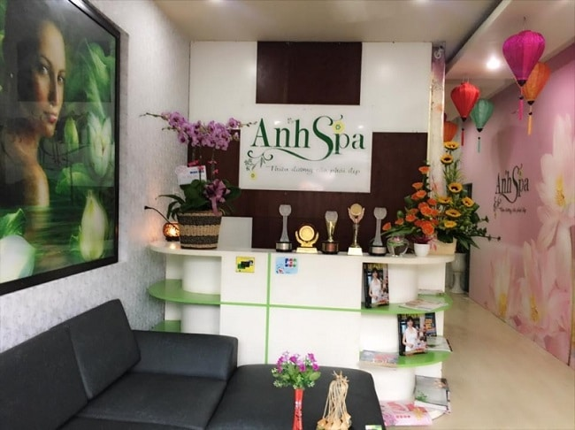 Anh Spa là Top 5 Spa làm đẹp chất lượng nhất Quận Gò Vấp, TPHCM
