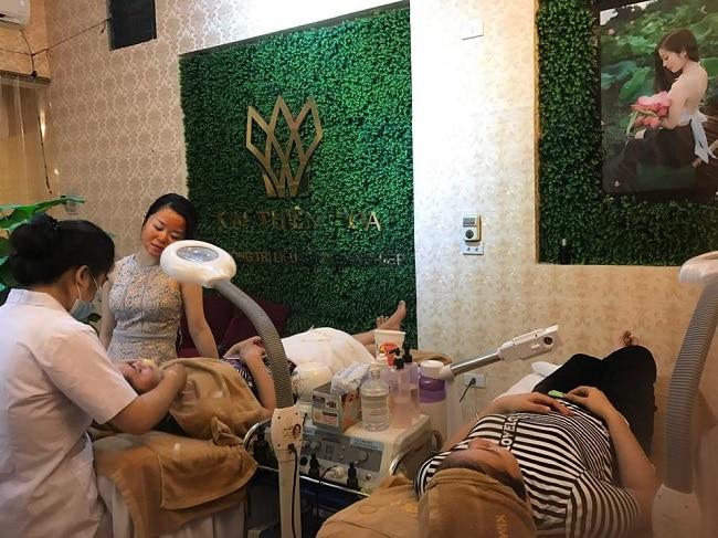 Kim Thiên Hoa Spa là Top 5 Spa làm đẹp uy tín tại Hải Dương