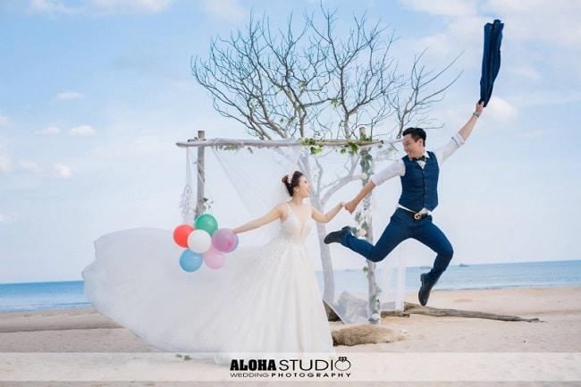 Aloha Studio là Top 5 Studio chụp ảnh cưới đẹp nhất Quận Phú Nhuận, TPHCM