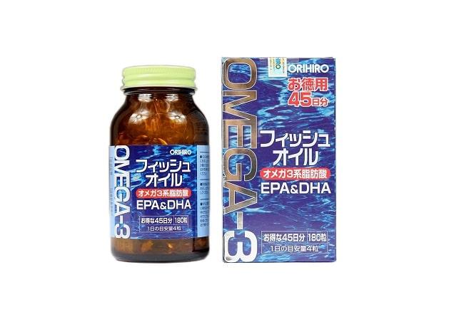 Omega 3 Orihiro là Top 10 Thuốc bổ mắt tốt nhất