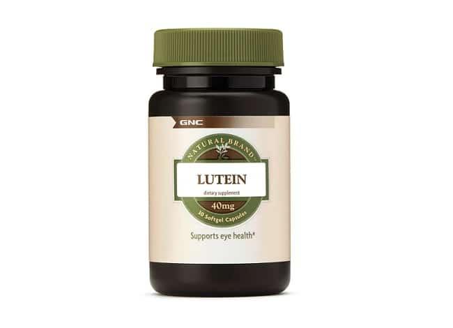 GNC Lutein là Top 10 Thuốc bổ mắt tốt nhất