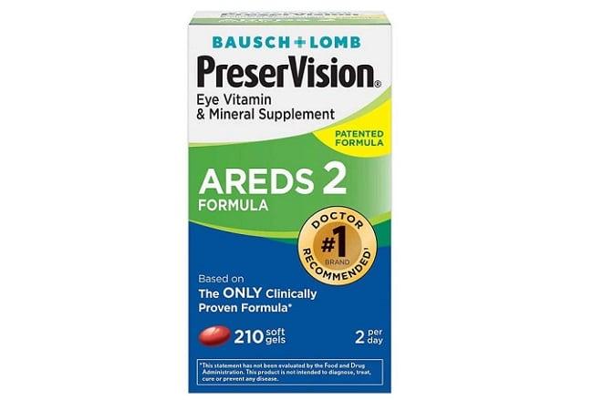 Bausch & Lomb Preser Vision là Top 10 Thuốc bổ mắt tốt nhất