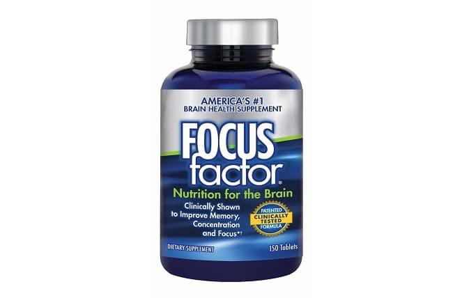 Focus Factor Dietary Supplement là Top 10 Loại thuốc bổ não cho học sinh tốt nhất hiện nay