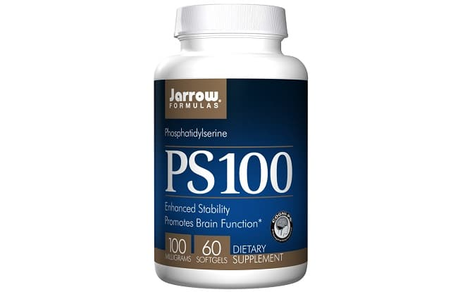 Jarrow Formulas Ps100 PhosphatidyIserine là Top 10 Loại thuốc bổ não cho học sinh tốt nhất hiện nay