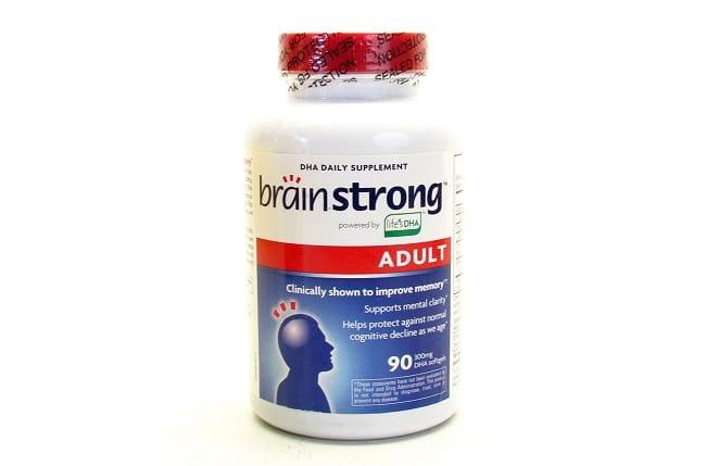 BrainStrong Adult DHA là Top 10 Loại thuốc bổ não cho học sinh tốt nhất hiện nay