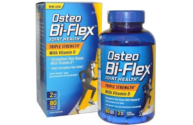 Osteo Bi - Flex Triple Strength là Top 10 Loại thuốc bổ tốt nhất cho người già, người cao tuổi