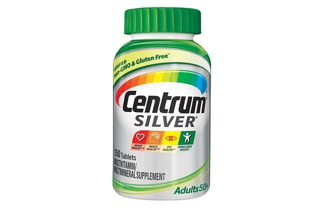 Centrum Silver Multivitamin For Adults 50+ là Top 10 Loại thuốc bổ tốt nhất cho người già, người cao tuổi